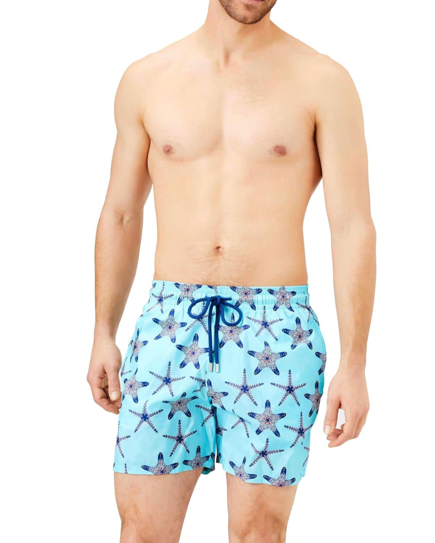 Men's Mahina Starfish Print Swim Trunks