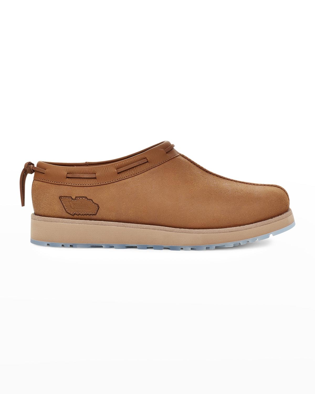 Men's x Ovadia Tasman Leather Slip-Ons