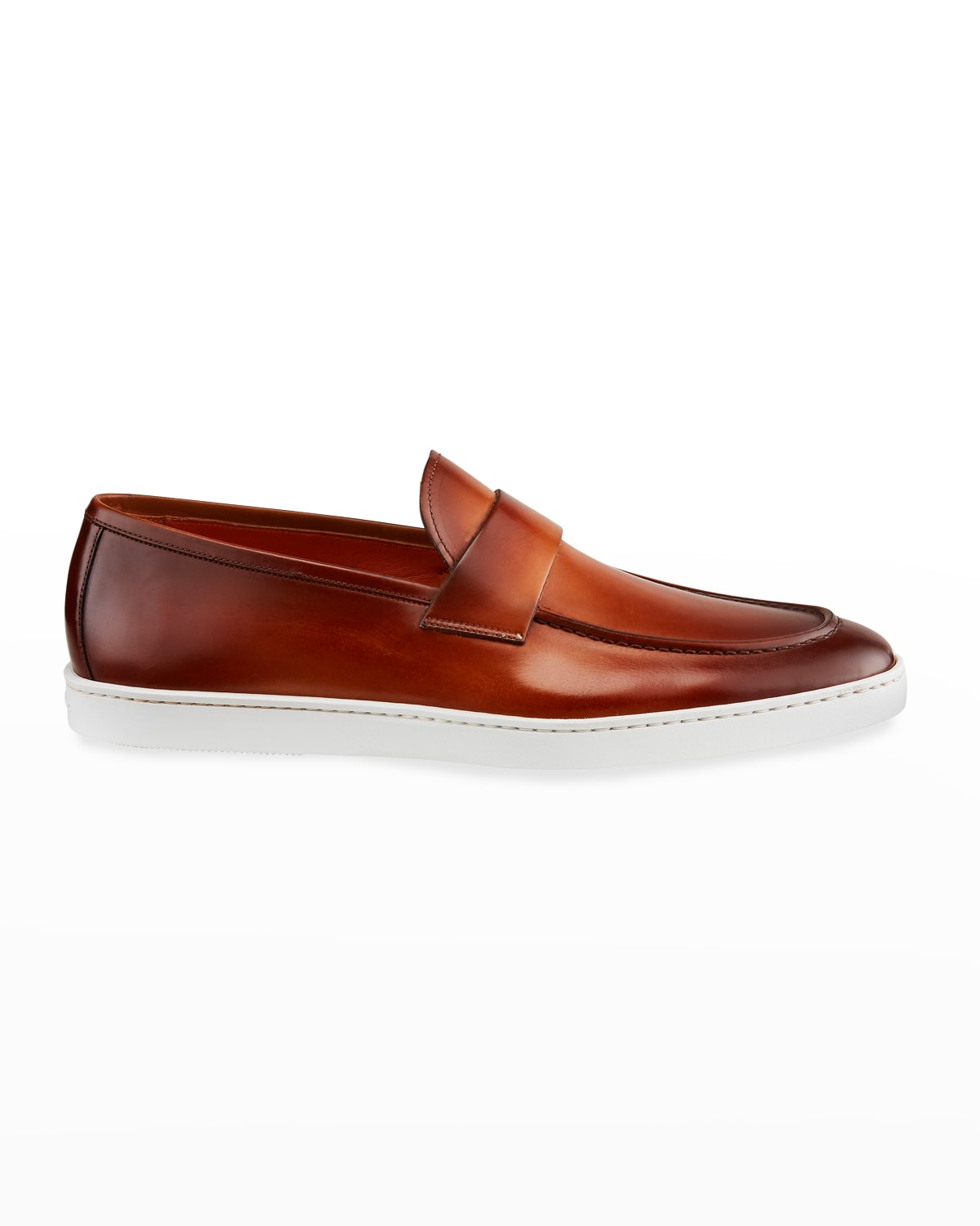 Men's Pace Soft Burnished Leather Slip-Ons
