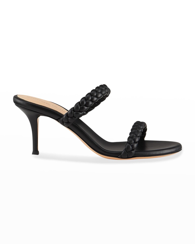 70mm Braided 2-Band Slide Sandals