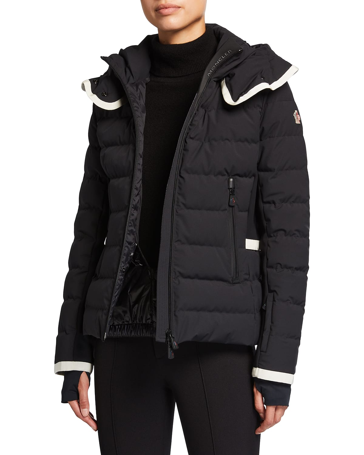 Lamoura Fitted Down Ski Jacket