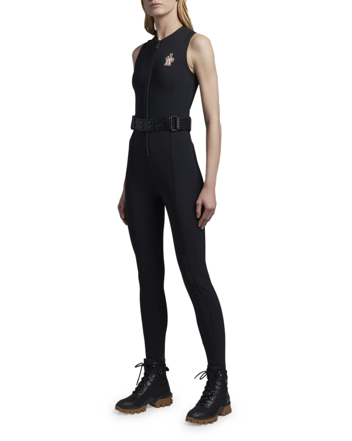 Belted Technical Ski Suit