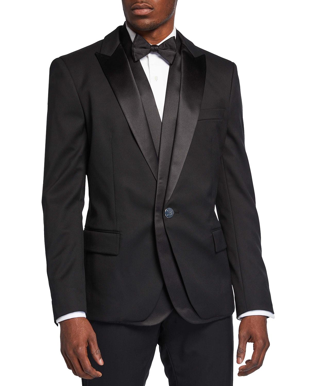 Men's Double-Shawl Dinner Jacket
