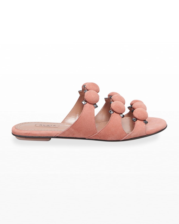 Flat Bombe Sandals