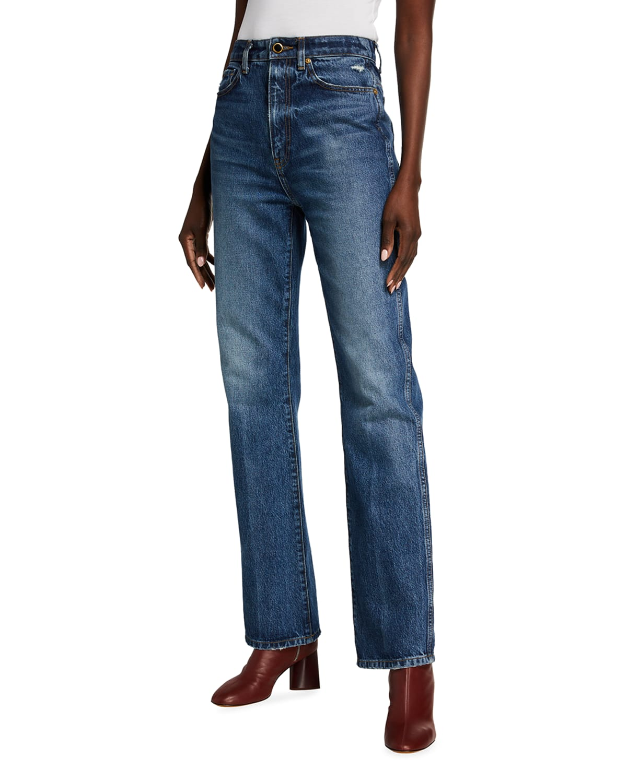 Danielle Straight-Leg Jeans