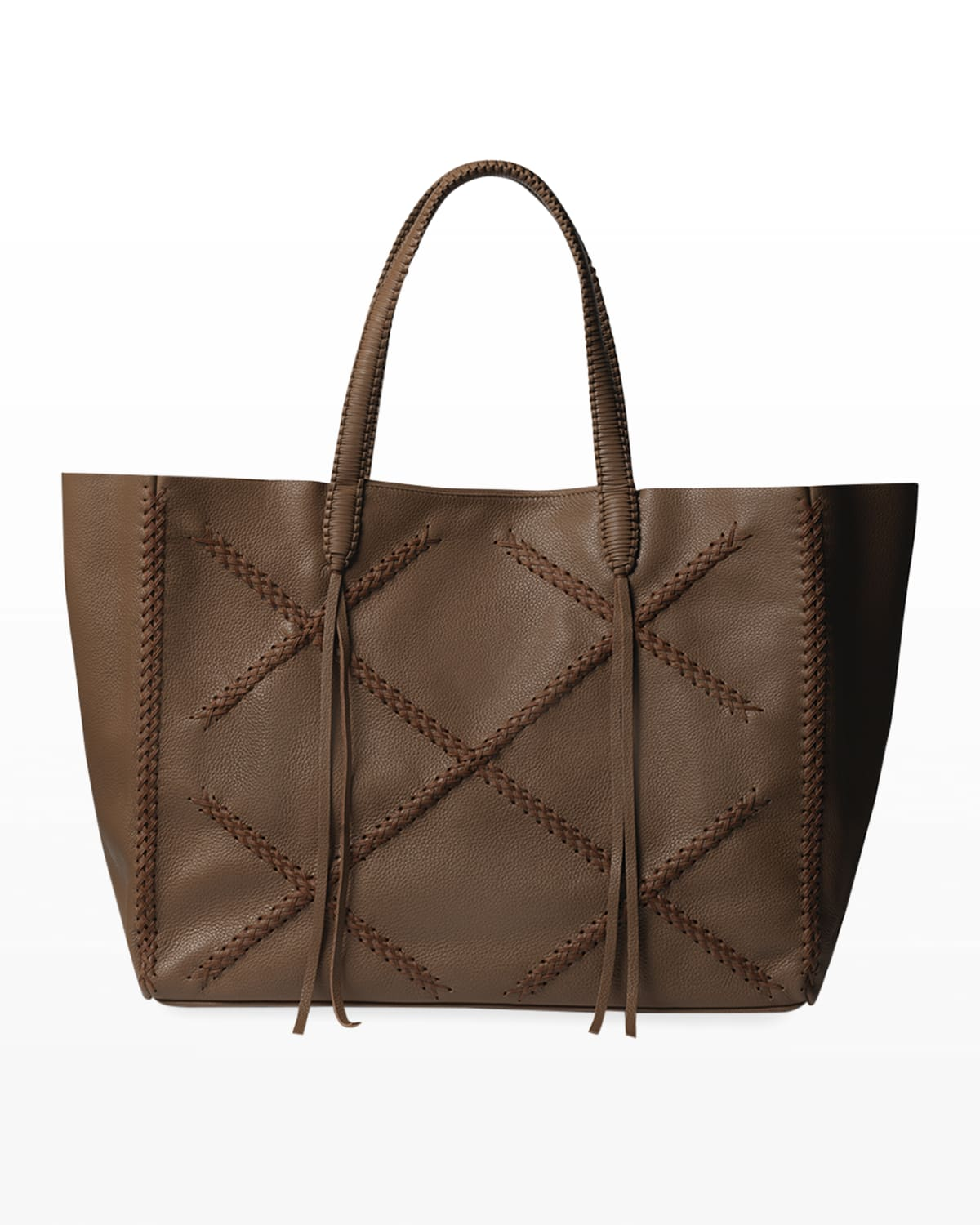 Iconic Leather Tote Bag