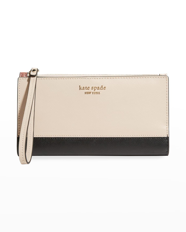 continental wristlet wallet