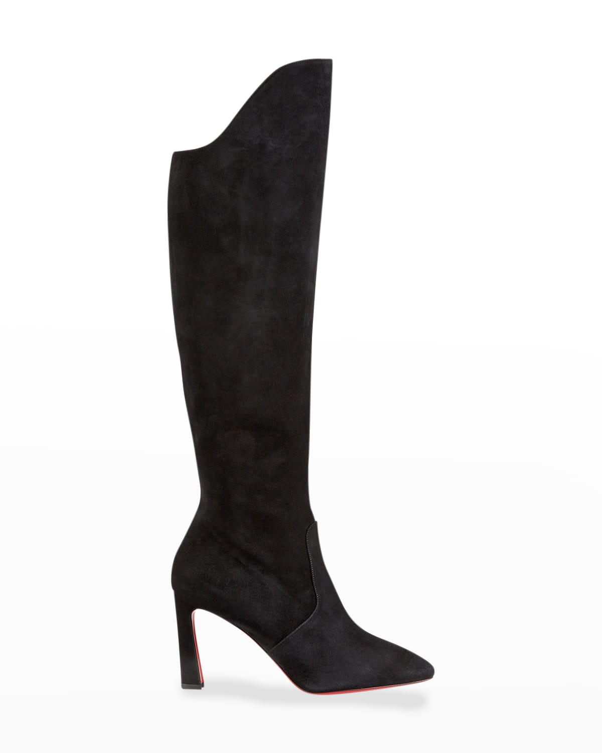 Eleonor Tall Suede Red Sole Boots