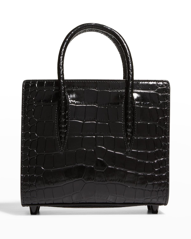 Paloma Mini Mock-Croc Tote Bag