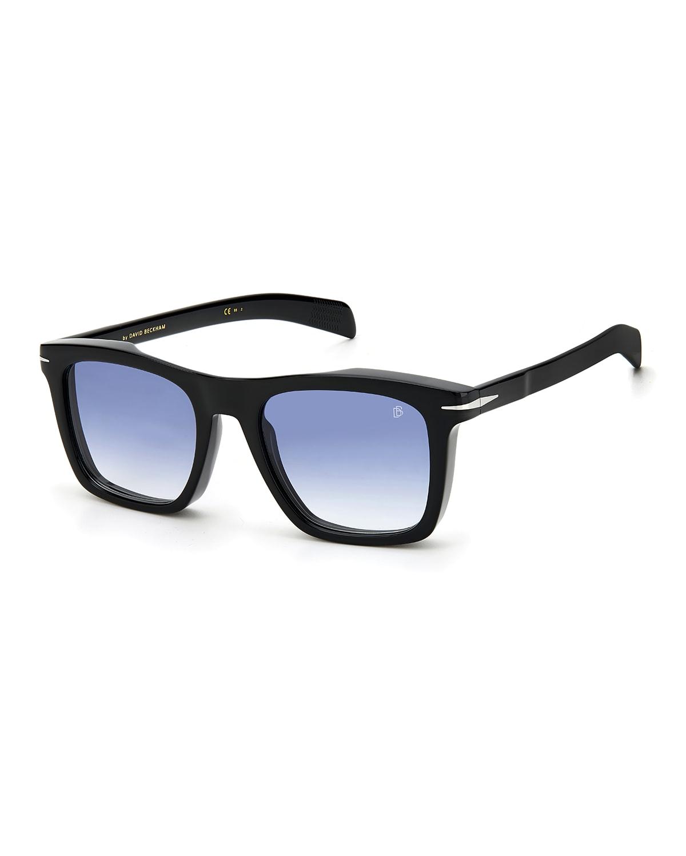 Men's Thick Square Acetate Sunglasses