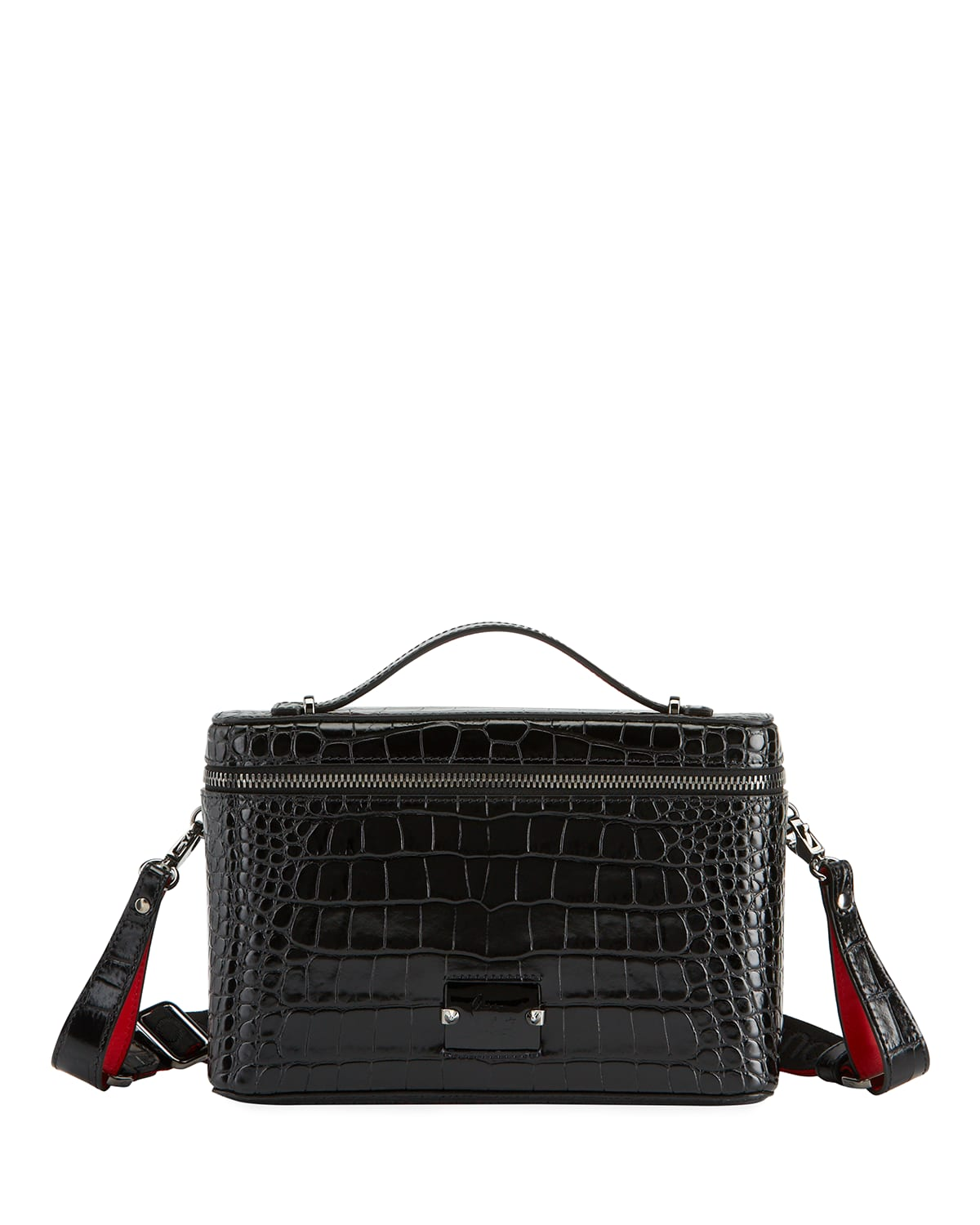 Men's Kypipouch Croc-Embossed Travel Toiletry Case