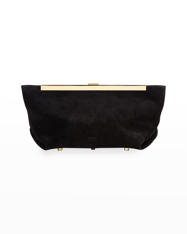 Aimee Envelope Pleat Clutch Bag