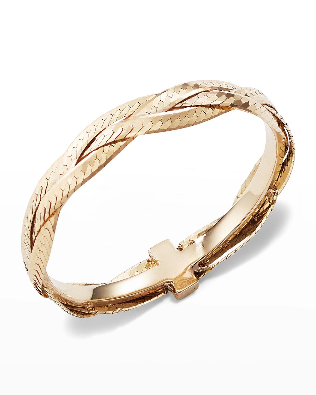 Triple Braided Liquid 14K Gold Ring