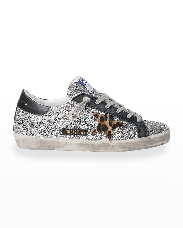 Superstar Glitter Low-top Sneakers