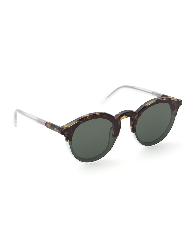Collins Nylon Round Sunglasses
