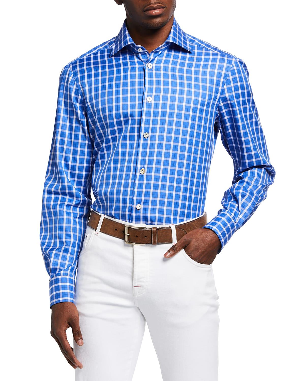 Men's Graph Check Sport Shirt