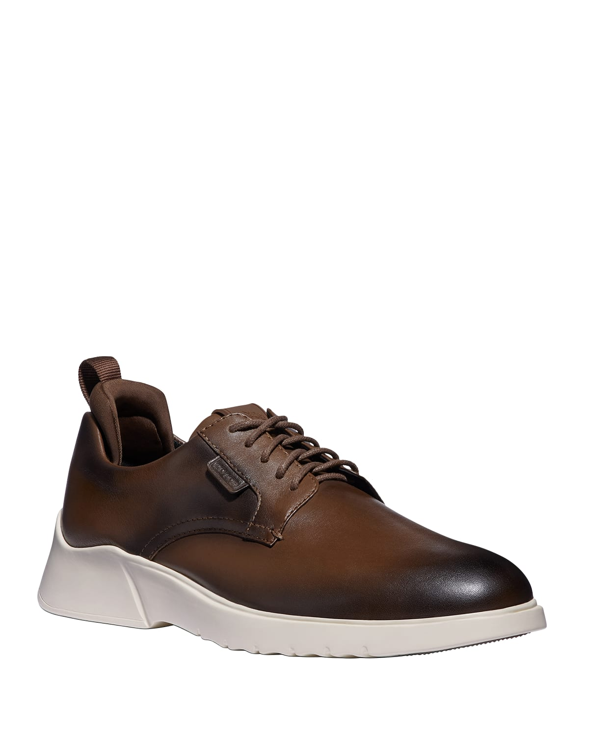 Men's CitySole Burnished Leather Derby Sneakers