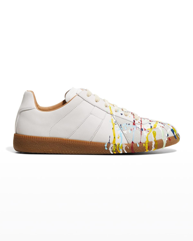 Replica Paint-Splatter Sneakers