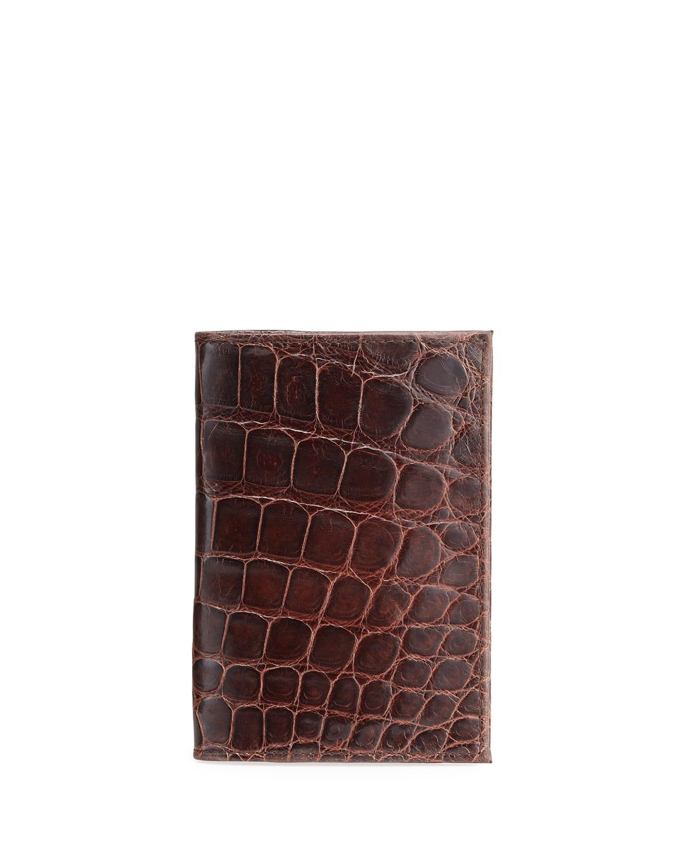 Men's Classic Alligator Passport Cover