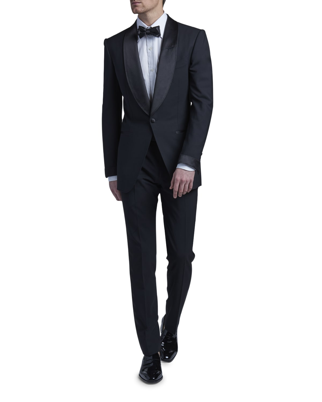 Men's JB Atticus Shawl-Lapel Tuxedo