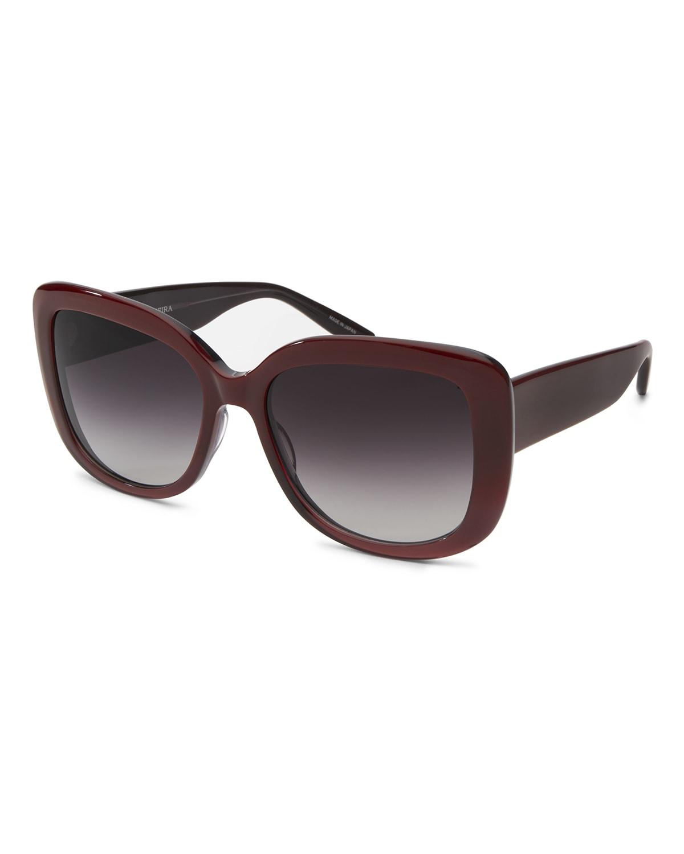 Choupette Oversized Square Acetate Sunglasses