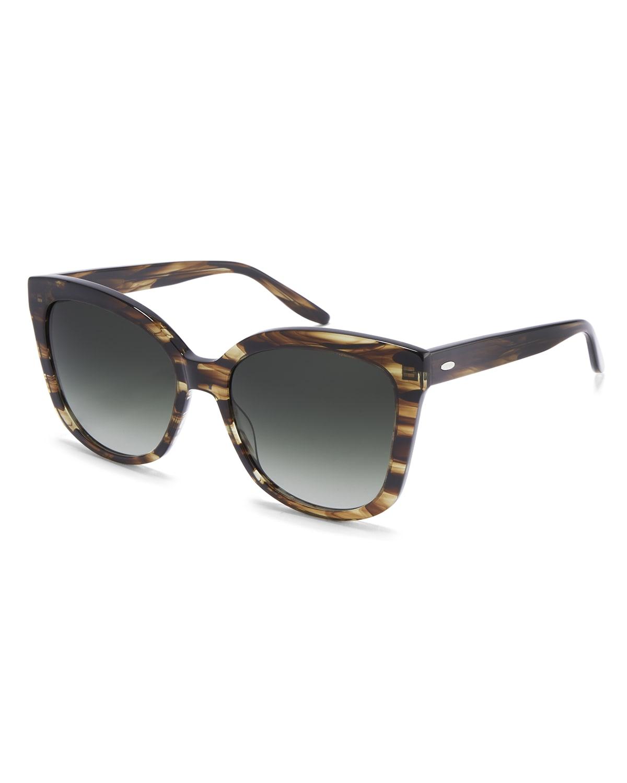 Shangri-La Oversized Square Acetate Sunglasses