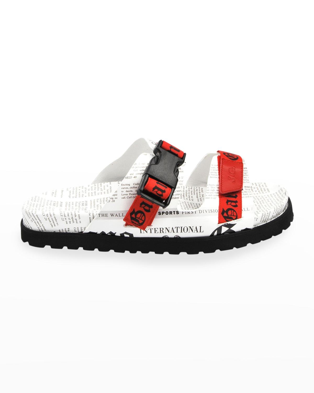 Men's Gazette Double-Strap Slide Sandals