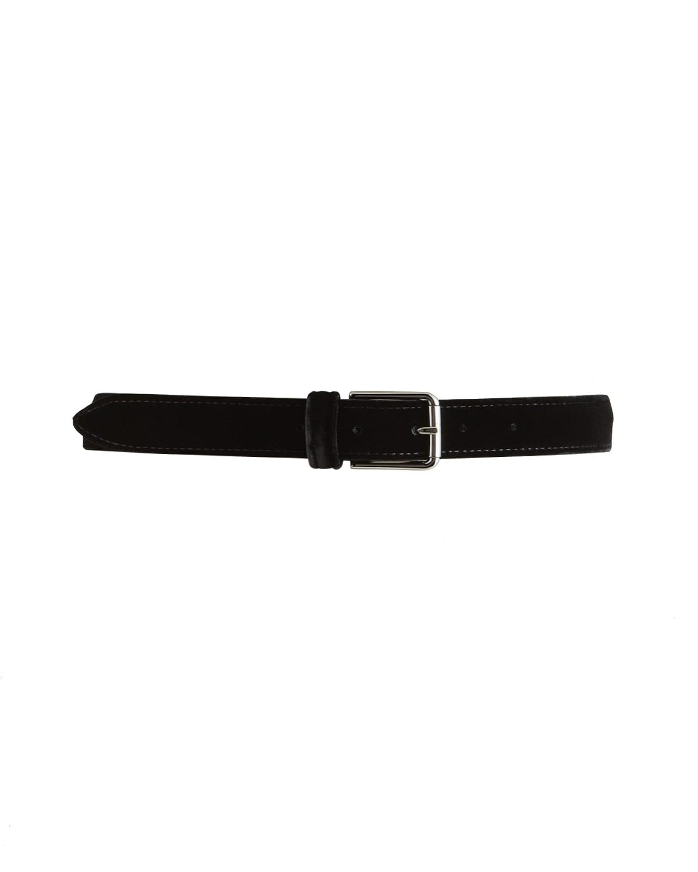 Men's Velvet Leather-Lined Belt