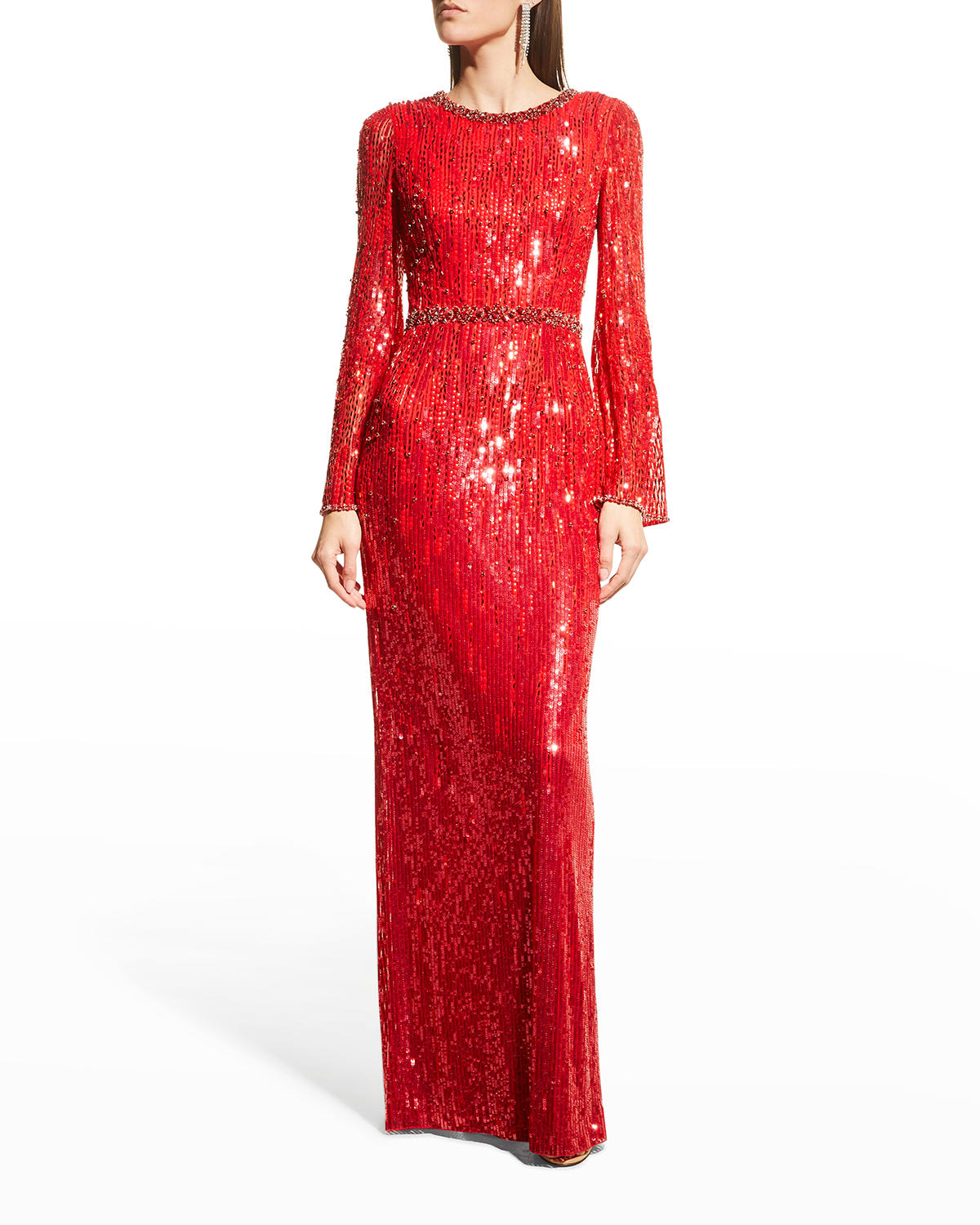 Cassidy Sequin Gown