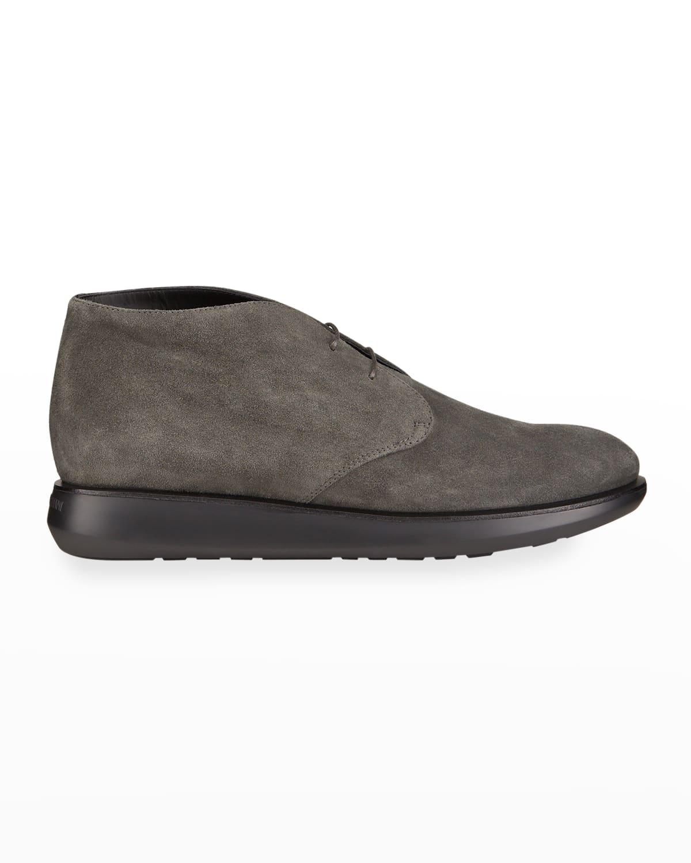 Men's Suede Chukka Sneakers