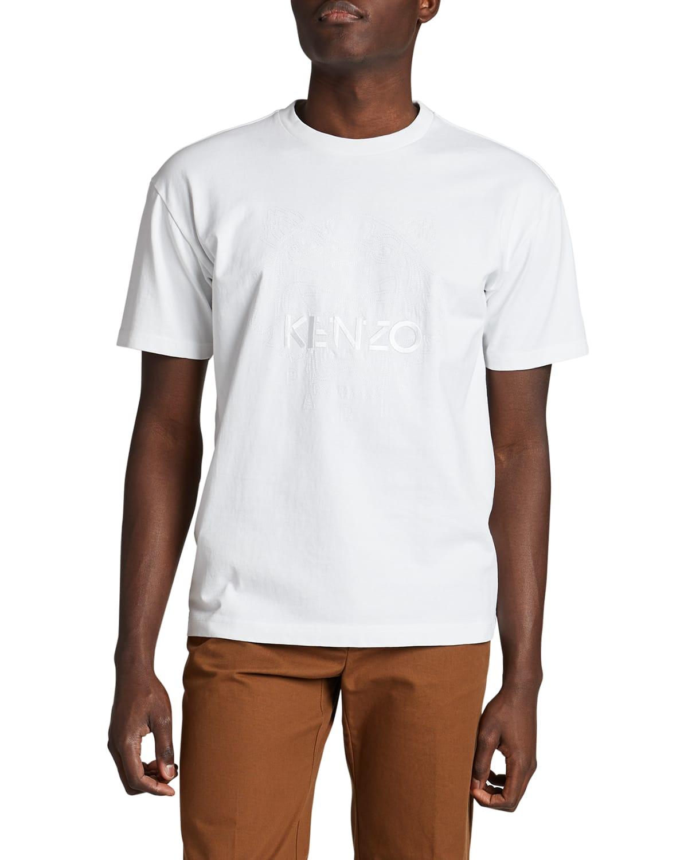 Men's Embossed Tiger T-Shirt