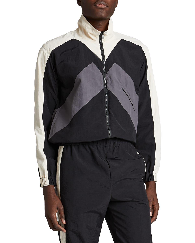 Men's Colorblock Sport Track Jacket