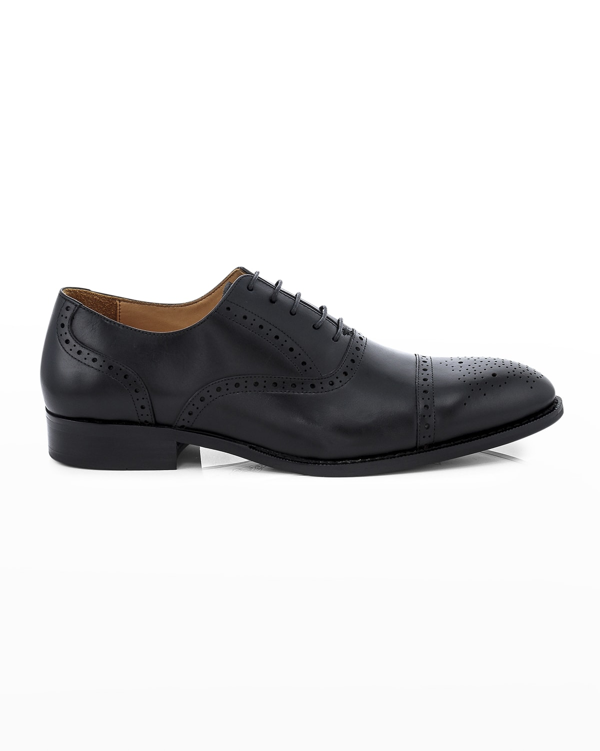 Men's Jared Brogue Leather Oxford Shoes
