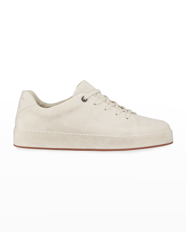 Nuages Walk Suede Goatskin Low-Top Sneakers