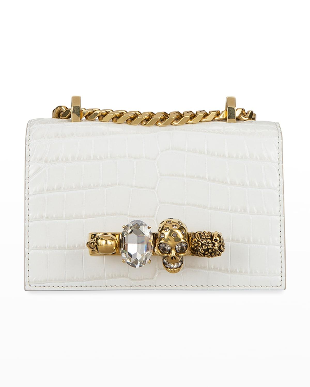 Mini Jeweled Satchel Bag