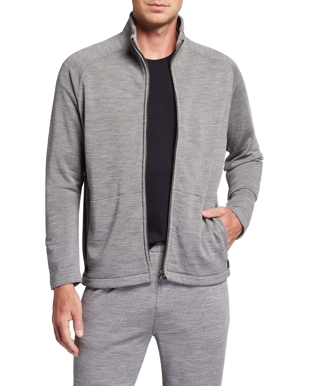 Men's Techmerino Full-Zip Jumper Sweater