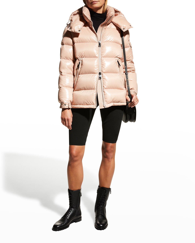 Maire Shiny Puffer Jacket