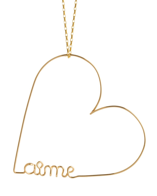 Mini Heart Aime Necklace