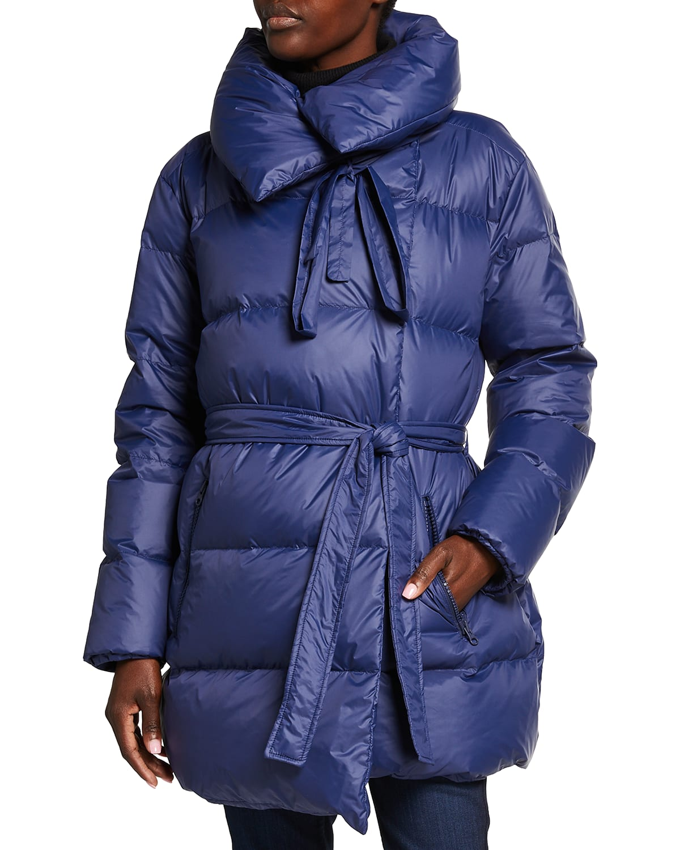 Puffa Self-Tie Down Jacket