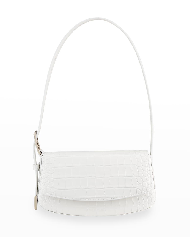Ghost Mock-Croc Shoulder Bag