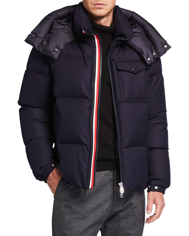 Men's Brazzeau Wool Puffer Coat