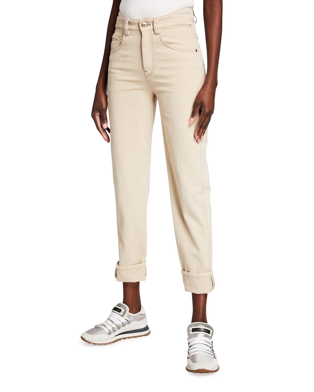 Garment Dyed Denim Jeans