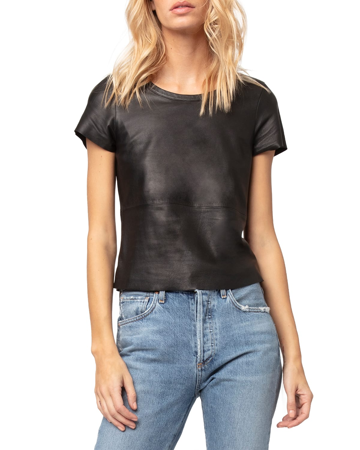 New Guard Leather Tee