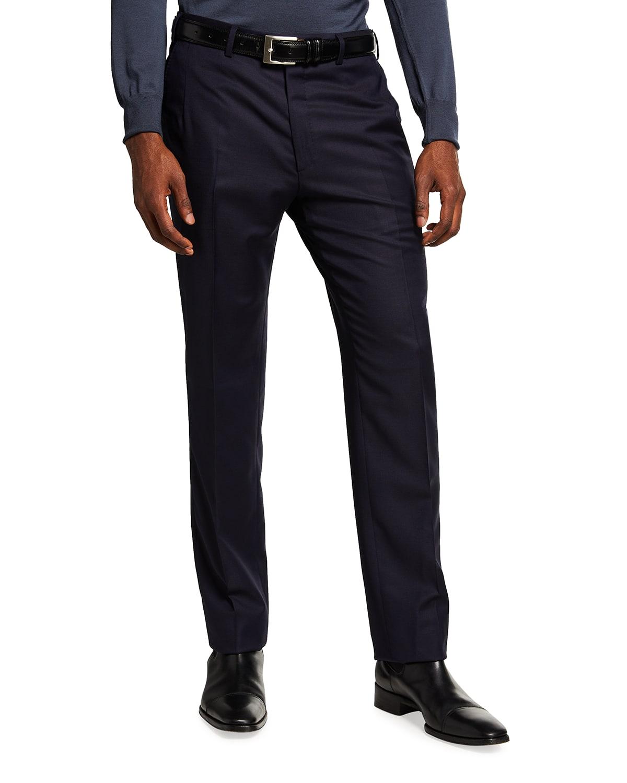 Men's Wool Twill FF Trousers