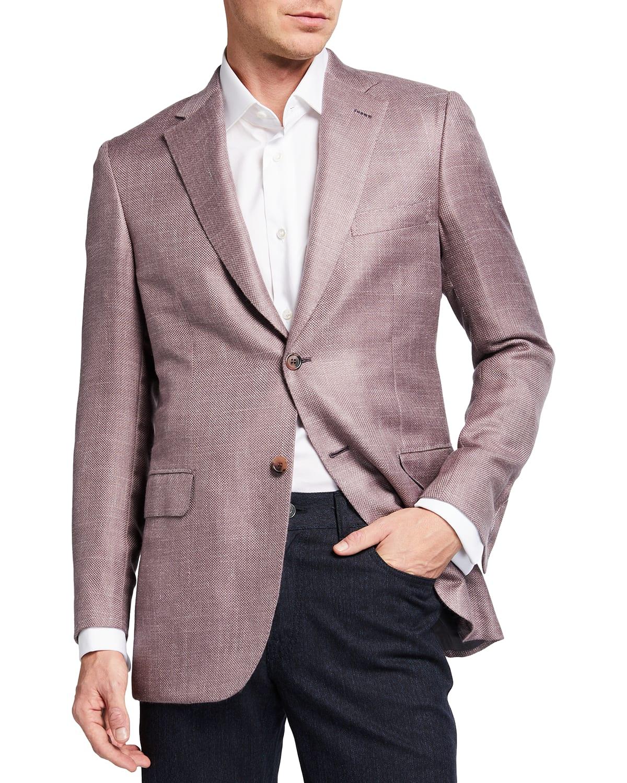Men's Cashmere-Blend Two-Button Blazer