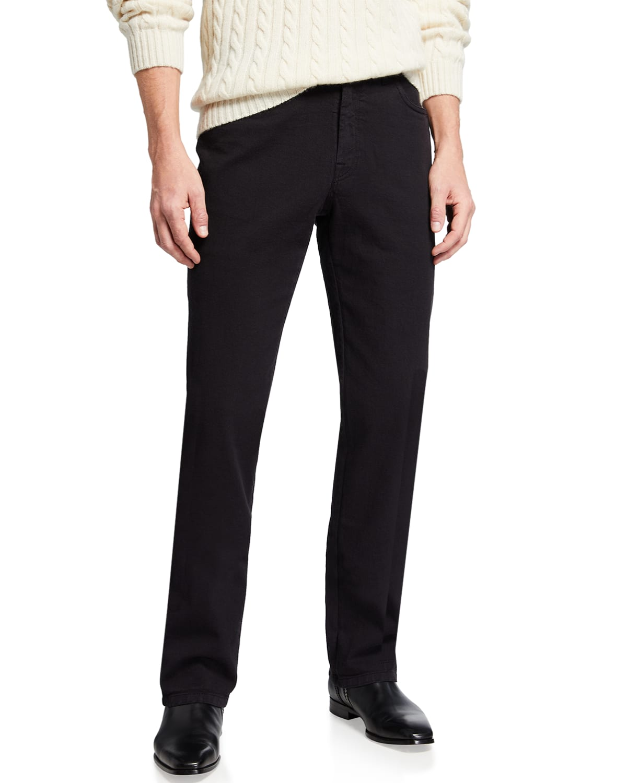 Men's Straight Twill Pants