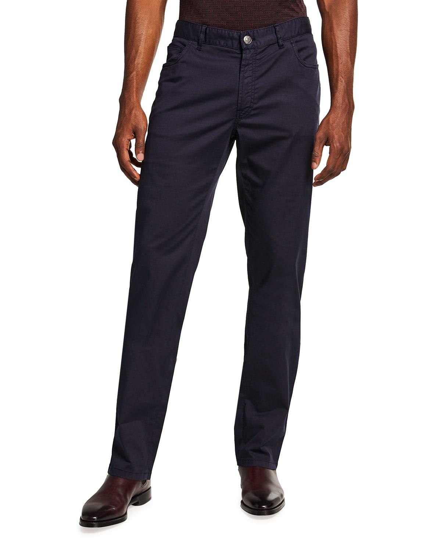 Men's Twill 5-Pocket Pants