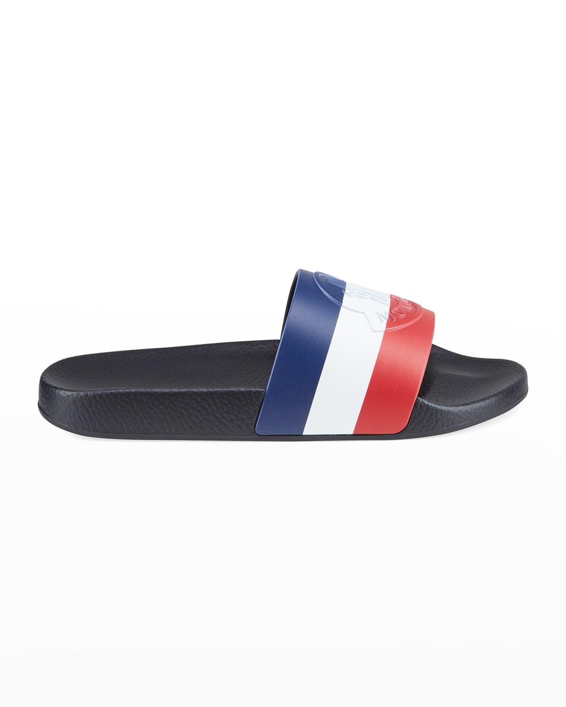 Men's Basile Tricolor Slide Sandals