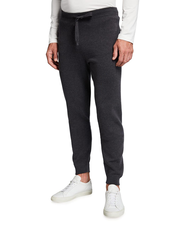 Men's Solid Track Suit Pants