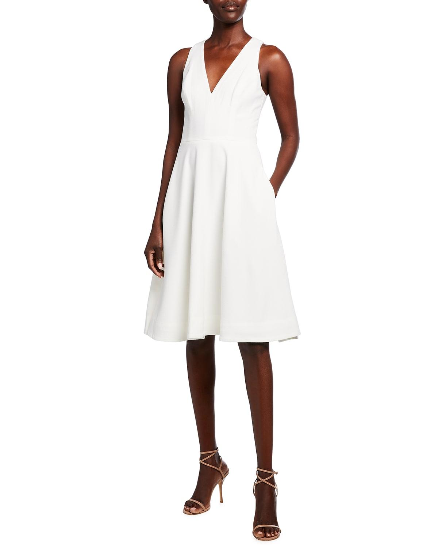 Catalina V-Neck Swing Dress